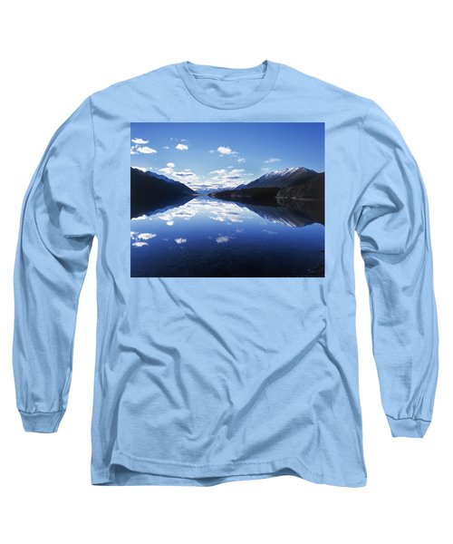 South Mavora Lake, Southland, New Zealand. Long Sleeve T-Shirt