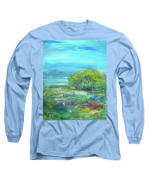 Meadow Trees Long Sleeve T-Shirt