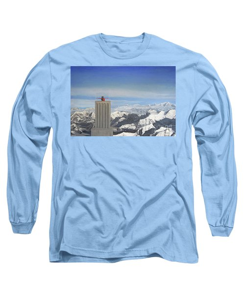 Meeting Table Oil On Canvas Long Sleeve T-Shirt