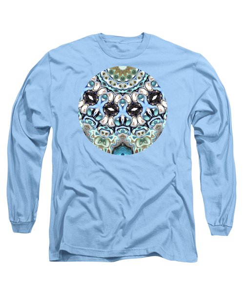 Melting Colors In Symmetry Long Sleeve T-Shirt