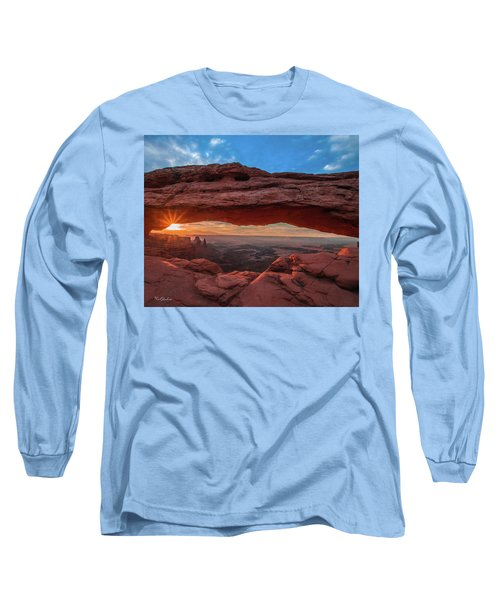 Mesa Arch At Sunrise 3, Canyonlands National Park, Utah Long Sleeve T-Shirt