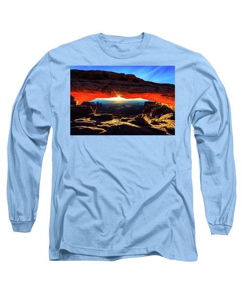 Mesa Arch Sunrise Long Sleeve T-Shirt