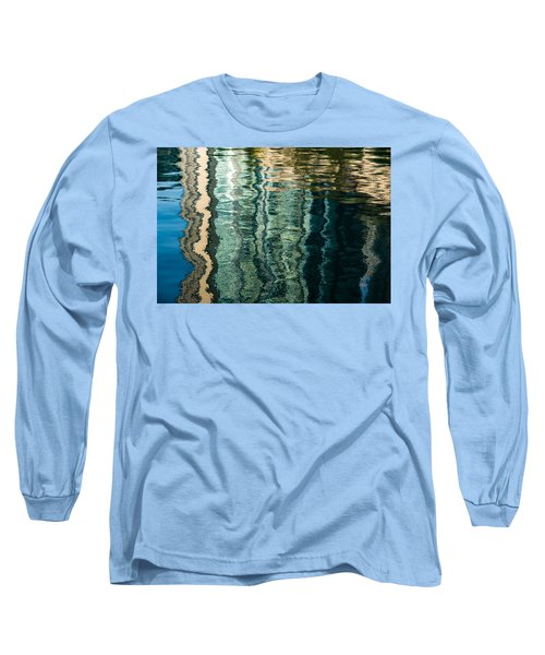 Mesmerizing Abstract Reflections Two Long Sleeve T-Shirt
