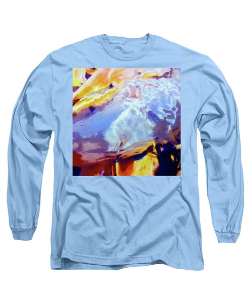 Long Sleeve T-Shirt featuring the painting Metamorphosis by Dominic Piperata