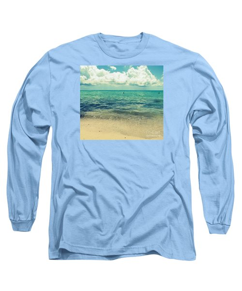 Long Sleeve T-Shirt featuring the photograph Miami Beach 5 by France Laliberte