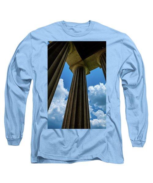 Mighty Columns  Long Sleeve T-Shirt