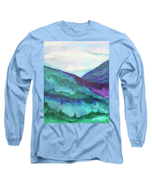 Mini Mountains Majesty Long Sleeve T-Shirt