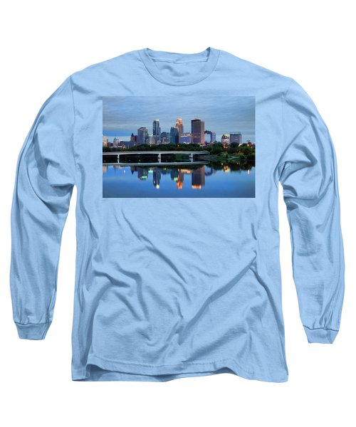 Minneapolis Reflections Long Sleeve T-Shirt