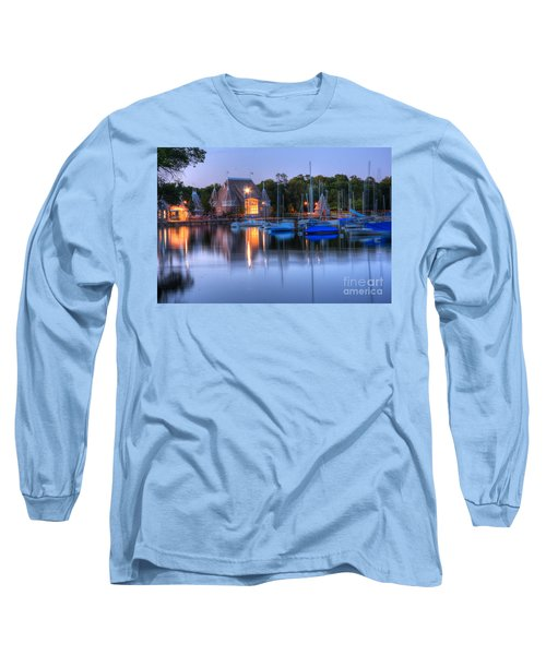 Minneapolis Skyline Photography Long Sleeve T-Shirt