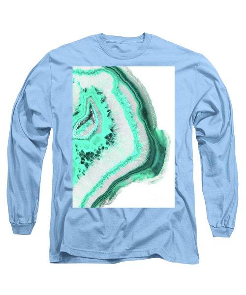 Mint Agate Long Sleeve T-Shirt