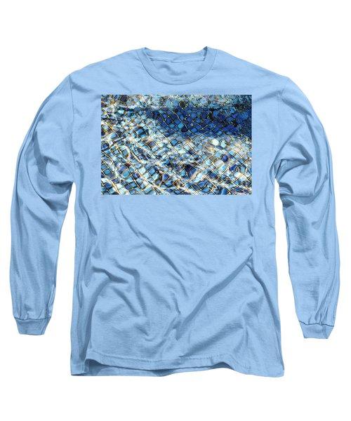 Mission San Buenaventura Mosaic Long Sleeve T-Shirt