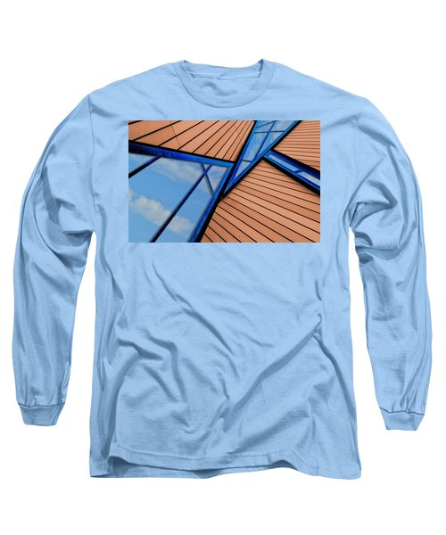 Mixed Perspective Long Sleeve T-Shirt