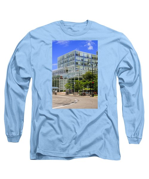 Modern Madison Long Sleeve T-Shirt by Chris Smith