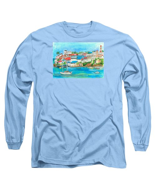 Mombasa Town Long Sleeve T-Shirt