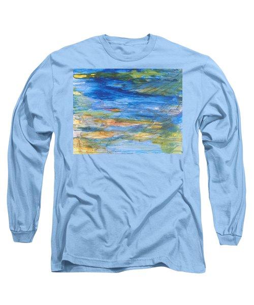Monet's Pond Long Sleeve T-Shirt