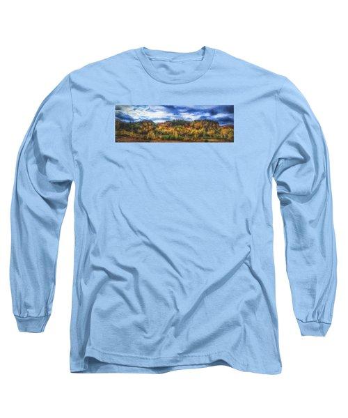 Monkton Ridge, Vt Long Sleeve T-Shirt by Rena Trepanier