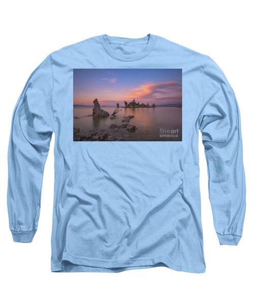 Mono Lake Long Exposure Sunset  Long Sleeve T-Shirt