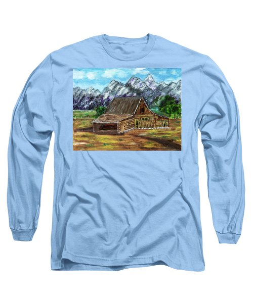 Montana Barn Long Sleeve T-Shirt