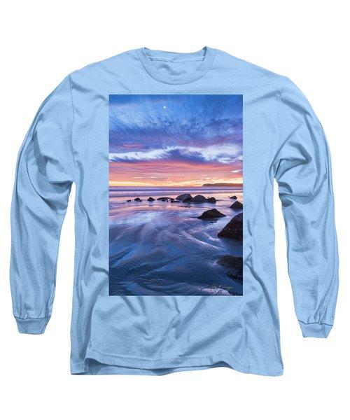Moon Above Long Sleeve T-Shirt
