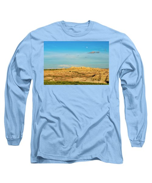 Moon Over The Badlands Long Sleeve T-Shirt