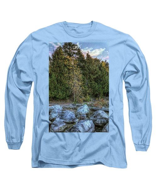 Moonlight Bay Bedrock Beach Long Sleeve T-Shirt