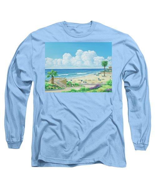 Moonlight Beach Long Sleeve T-Shirt