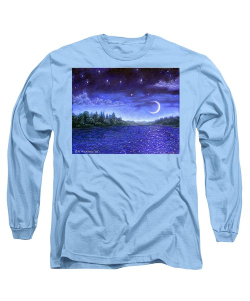 Moonlit Lake Long Sleeve T-Shirt