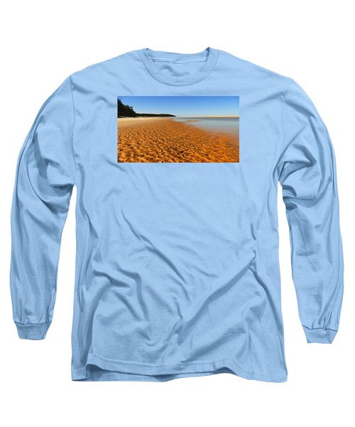 Long Sleeve T-Shirt featuring the photograph More Sand 01 by Kevin Chippindall
