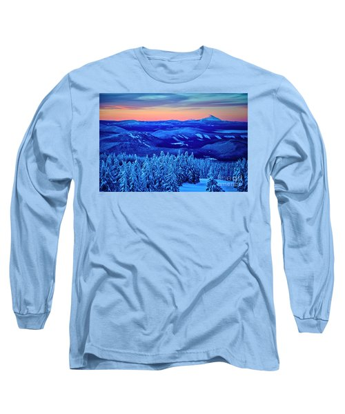 Morning From Timberline Lodge Long Sleeve T-Shirt