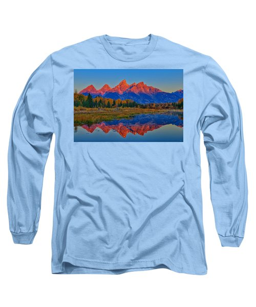 Long Sleeve T-Shirt featuring the photograph Morning Glow by Greg Norrell