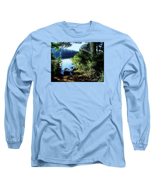 Morning Kayak Solitude Long Sleeve T-Shirt