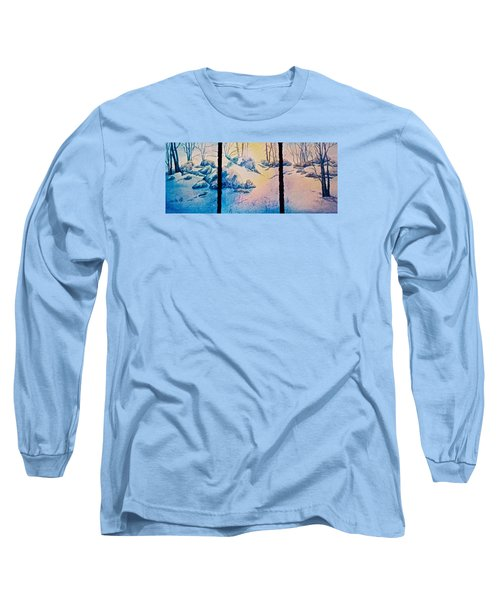 Morning Light Long Sleeve T-Shirt by Carolyn Rosenberger