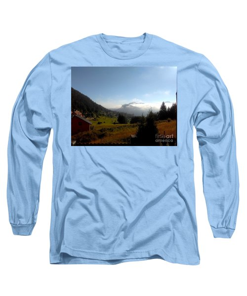 Morning Mist In The Magical Valley Long Sleeve T-Shirt