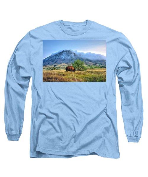 Morning Shift Long Sleeve T-Shirt by Fiskr Larsen