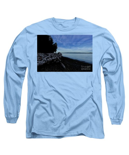 Morning Walk Seahurst Park. Long Sleeve T-Shirt