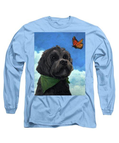 Moses - Pet Portrait Long Sleeve T-Shirt