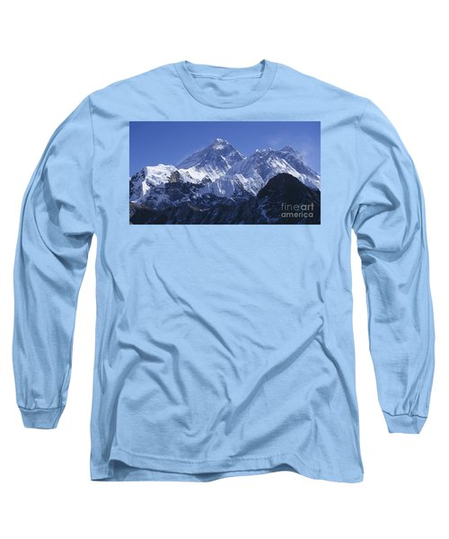 Long Sleeve T-Shirt featuring the photograph Mount Everest Nepal by Rudi Prott