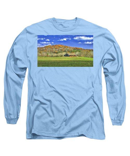 Mountain Barn Long Sleeve T-Shirt