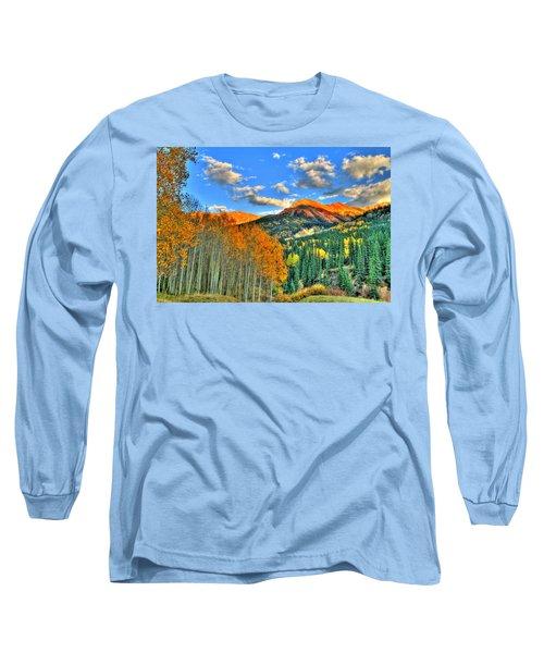 Mountain Beauty Of Fall Long Sleeve T-Shirt by Scott Mahon