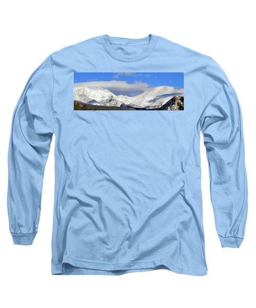 Mountain Peaks - Panorama Long Sleeve T-Shirt