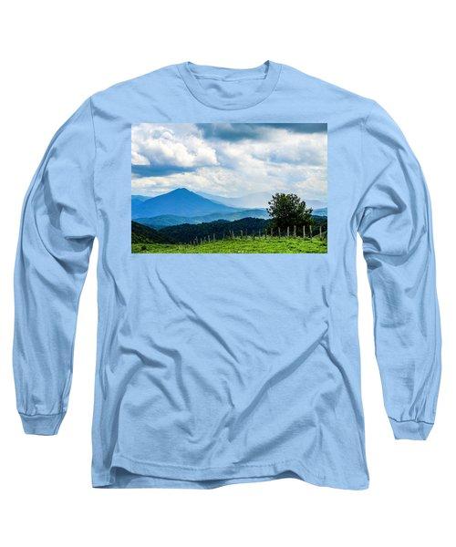 Mountain Rain Long Sleeve T-Shirt