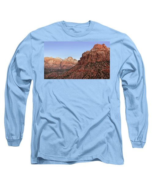 Mountain Vista At Zion Long Sleeve T-Shirt