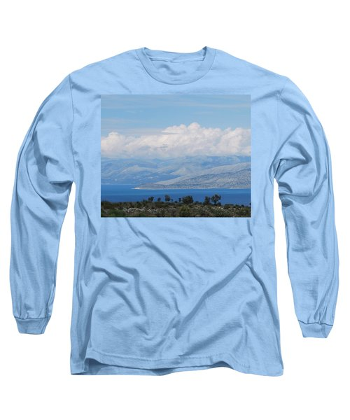 Mountains Far Away  3 Long Sleeve T-Shirt