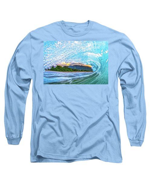 Mountains To The Sea Long Sleeve T-Shirt by James Roemmling