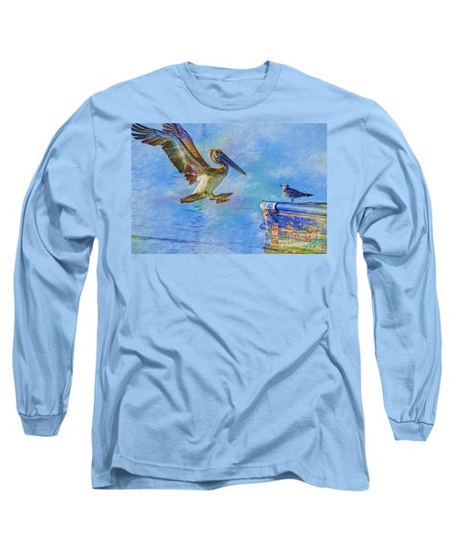 Move Over Long Sleeve T-Shirt by Deborah Benoit
