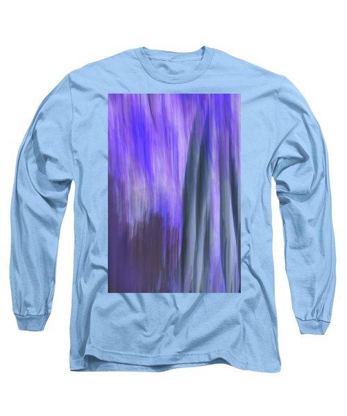 Moving Trees 37-36 Portrait Format Long Sleeve T-Shirt