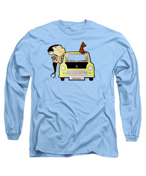 Mr. Bean Drawing Long Sleeve T-Shirt