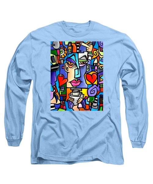 Mr Roboto Long Sleeve T-Shirt