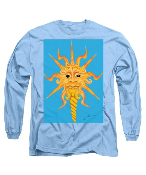 Mr. Sunface Long Sleeve T-Shirt