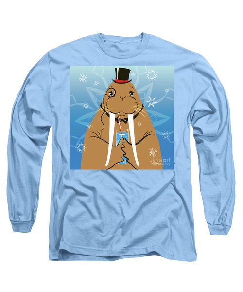 Mr. Walrus Long Sleeve T-Shirt